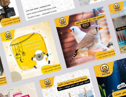 Pets Shop Social Media Management
